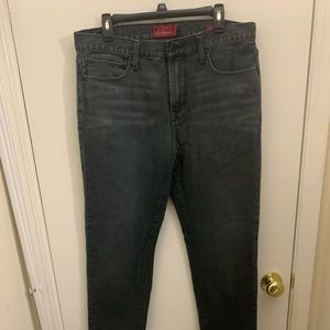 Lucky brand boot cut skinny jeans 36X32 black